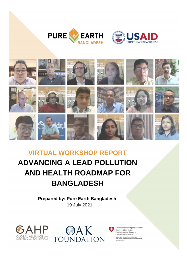 Bangladesh: Workshop Brings Consensus; Launches Unparalleled Unified Response To Lead Poisoning Crisis